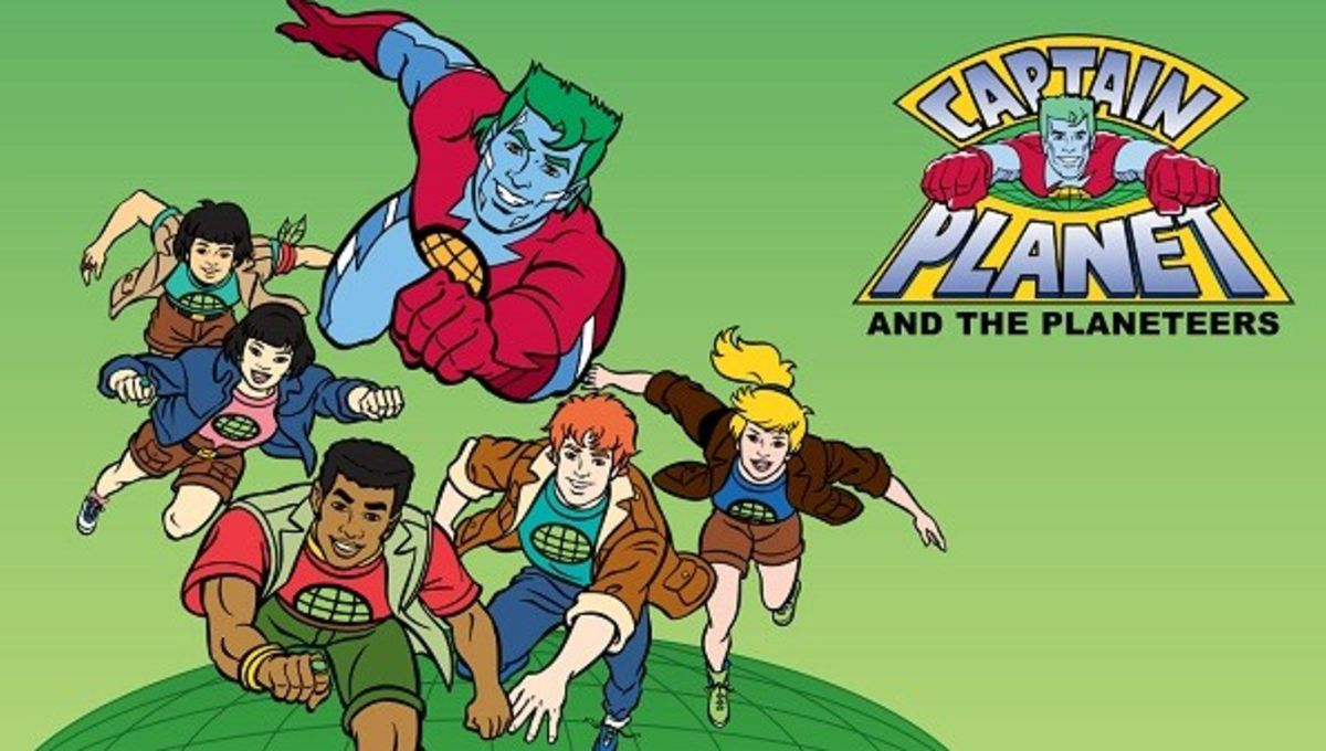 Image result for captain planet and the planeteers