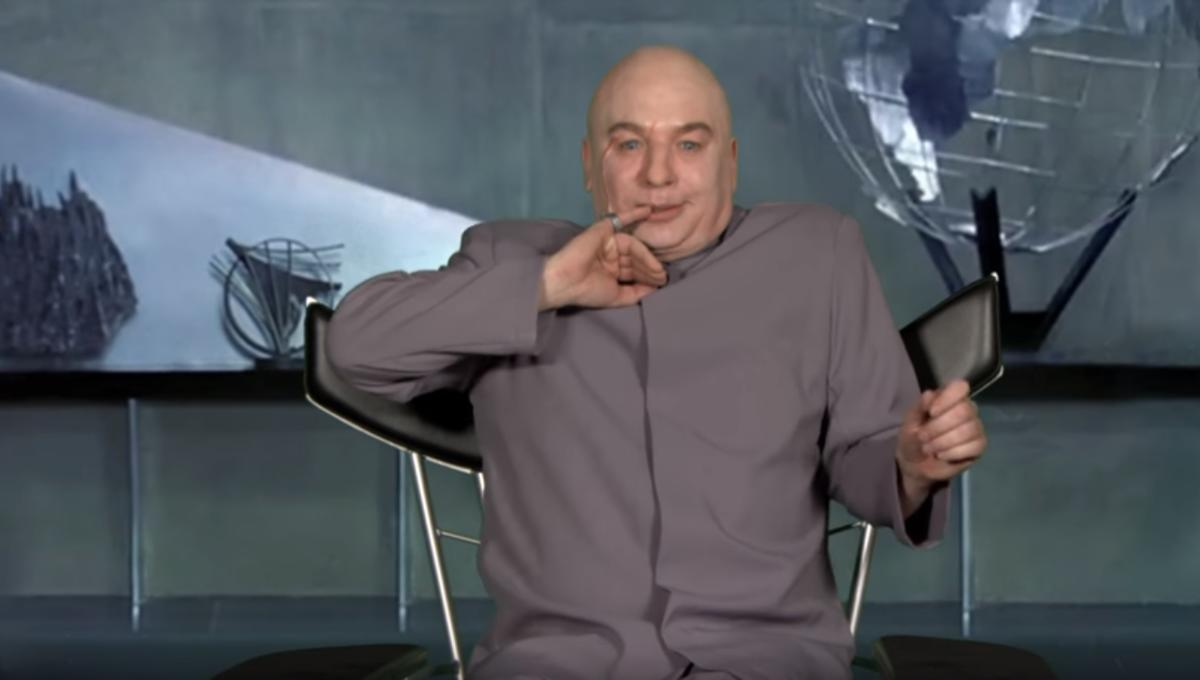 Dr. Evil is back to make the world evil again!