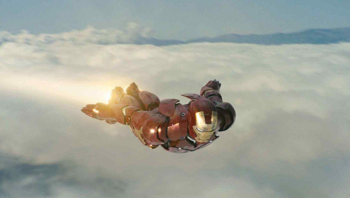 Iron Man in Flight