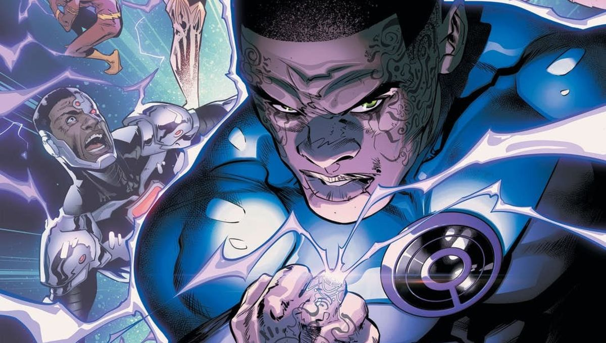 DC's Green Lantern is getting an Ultraviolet makeover