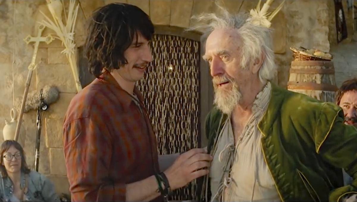 New Man from Don Quixote trailer unleashes Terry Gilliam's epically funny take on an epic classic