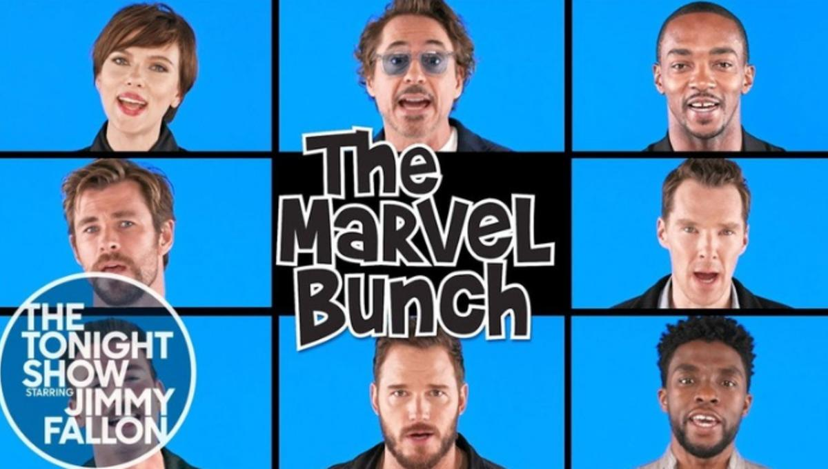 Avengers: Infinity War cast team up for hilarious Brady Bunch spoof
