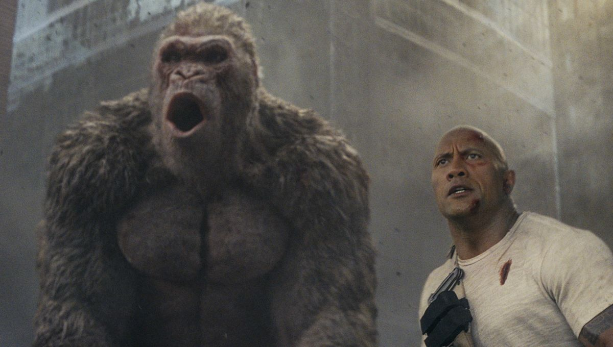 Rampage The Rock & George