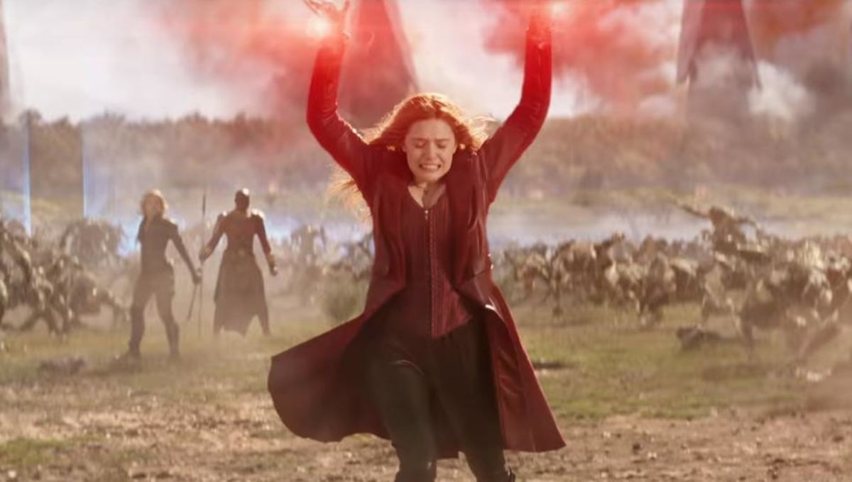 we want a scarlet witch film and so does elizabeth olsen