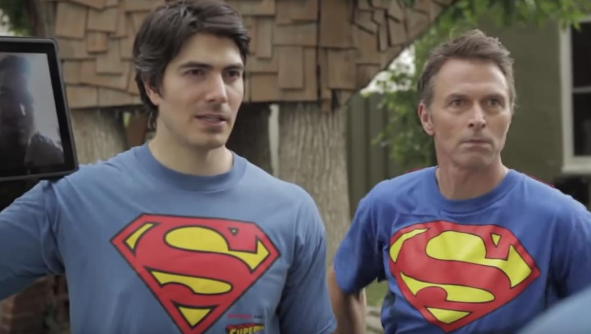 The Men of Steel: Superman actors hang out in a clubhouse, play basketball and bond
