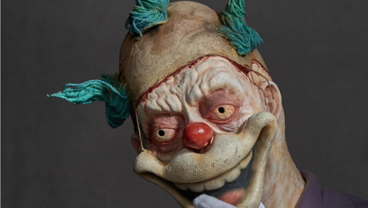 Krusty the Klown/Twisty the Clown The Simpsons/American Horror Story mashup by Nelson Cooper and Andrew Freeman