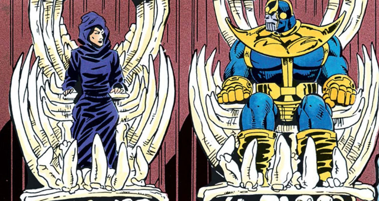 The bizarre comic book love story of Thanos and Death