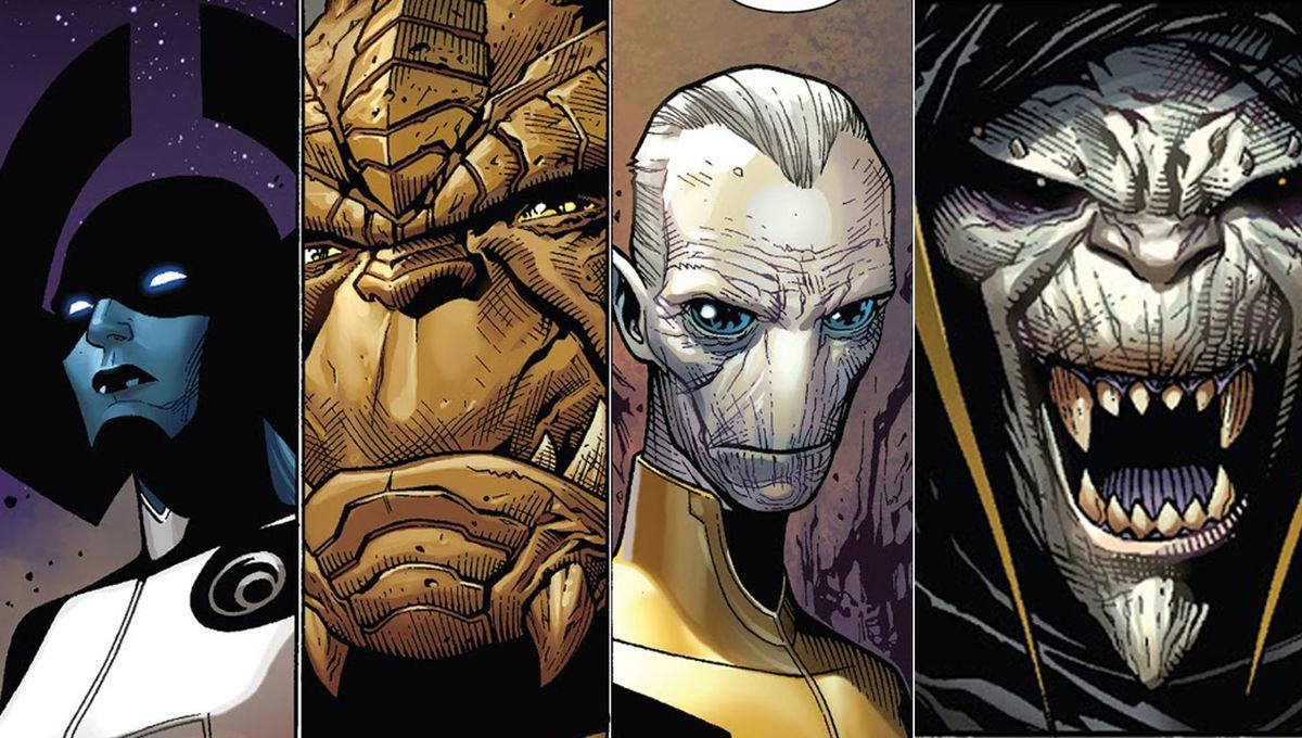 infinity war black order cast