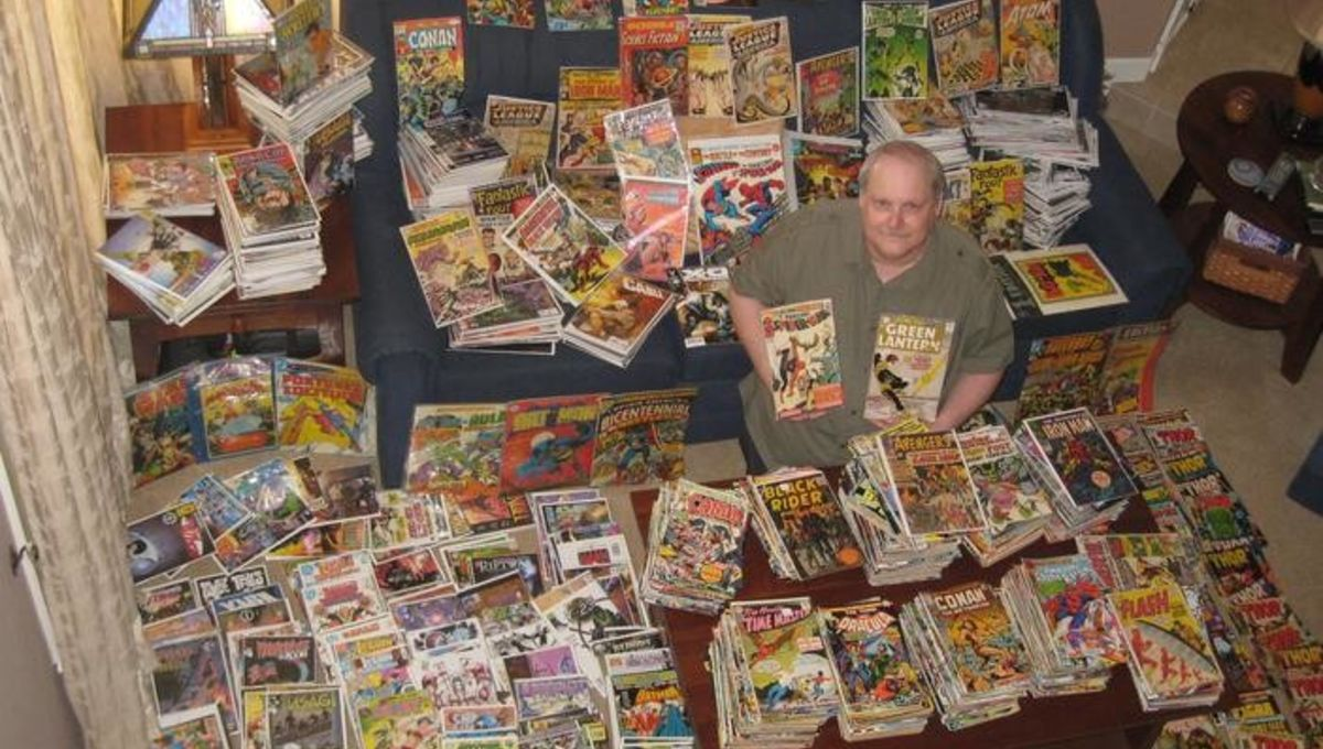 Inside the biggest comic book collection in the world
