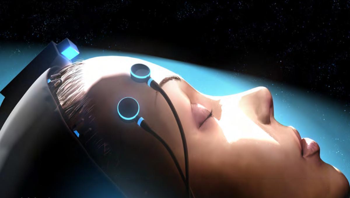 NASA image of cryosleep