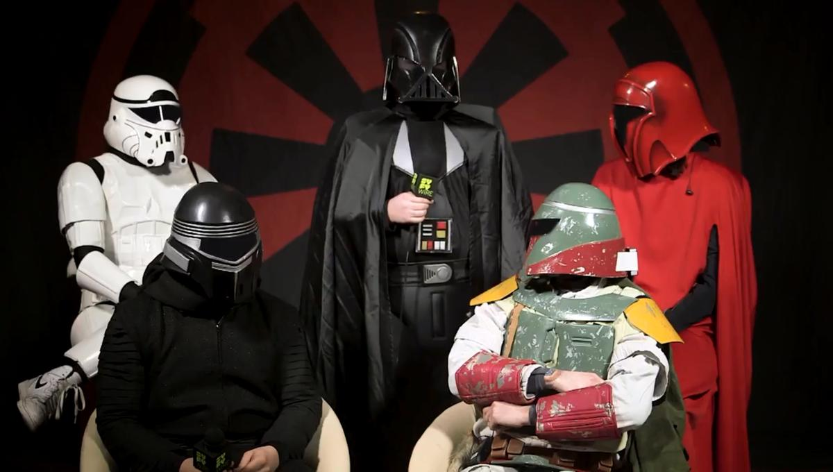 WATCH: Galactic Empire: a heavy metal Star Wars Story