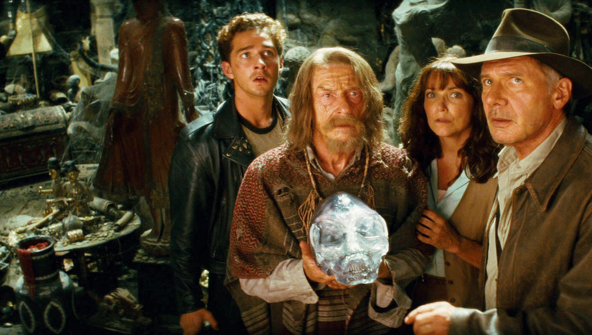 Image result for indiana jones and the kingdom of the crystal skull