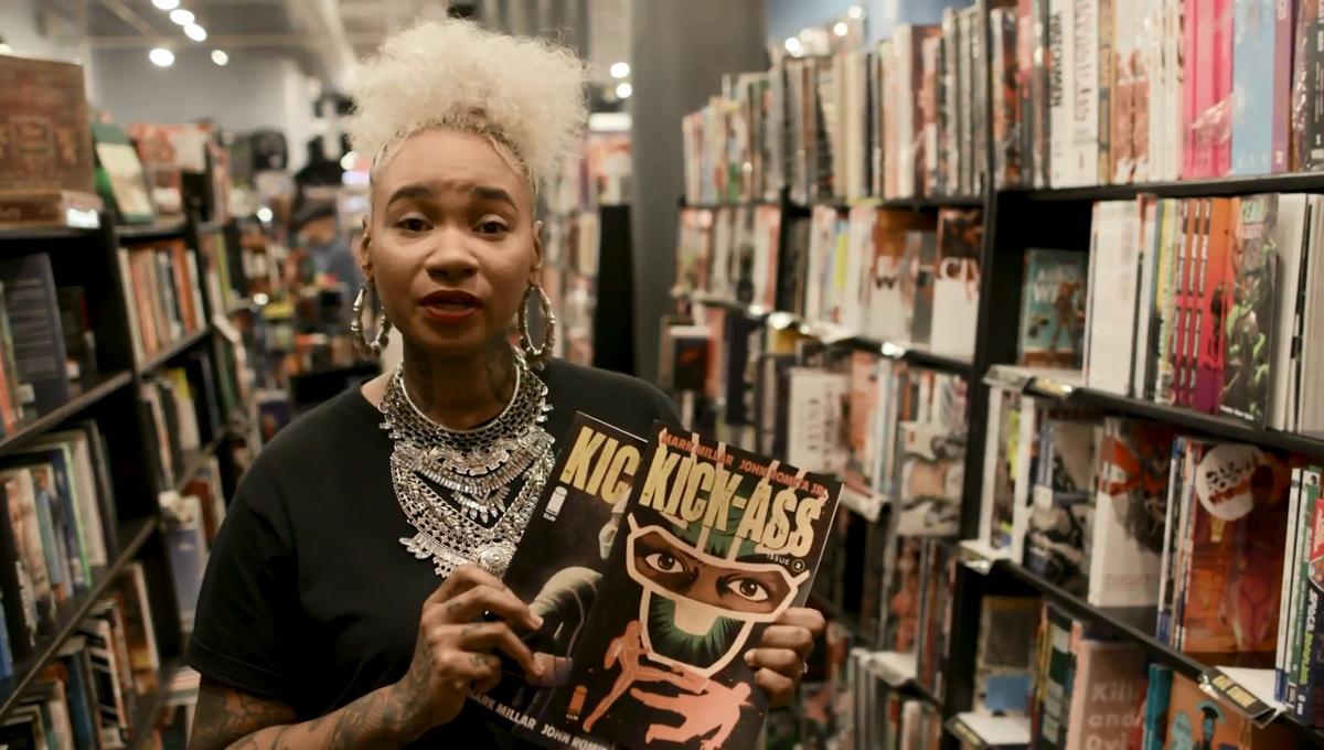 WATCH: Hip hop artist Jean Grae takes us comic book shopping