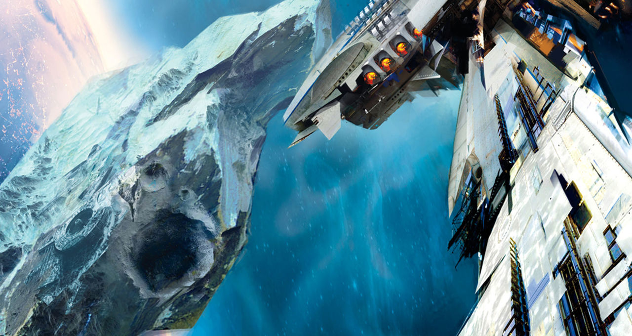 Leviathan Wakes cover Orbit Books