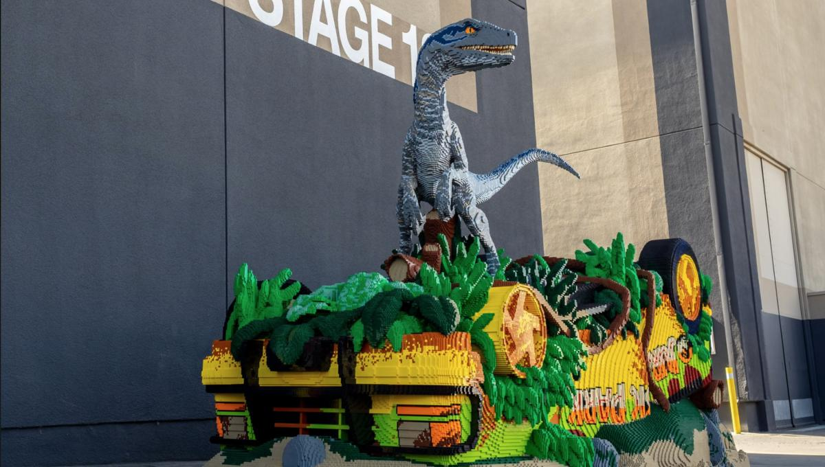 Jurassic World: Fallen Kingdom - Over 700,000 LEGO bricks