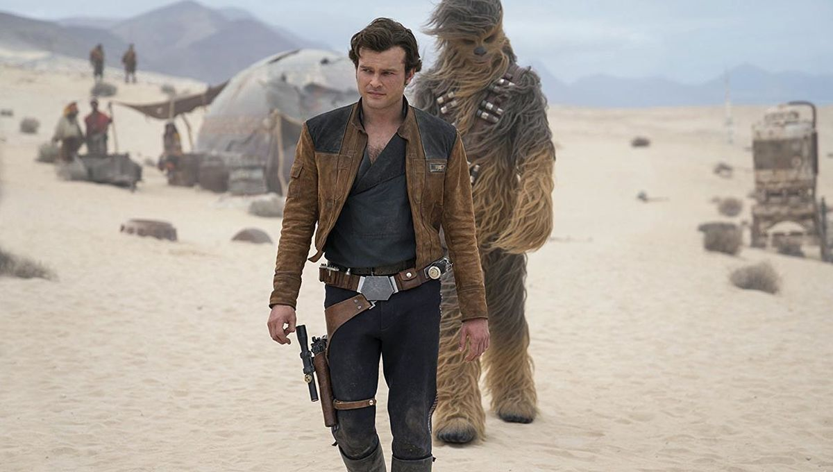Solo: A Star Wars Story Han and Chewie hero