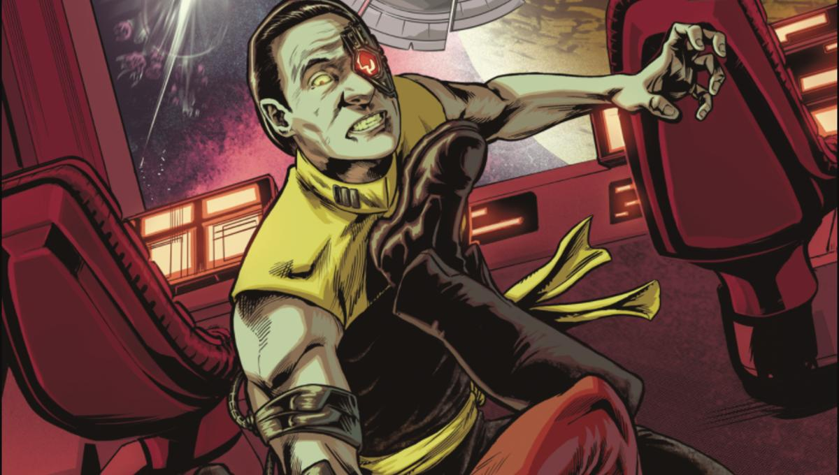Exclusive Preview: Two Picards battle in IDW's Star Trek: TNG - Through The Mirror 5