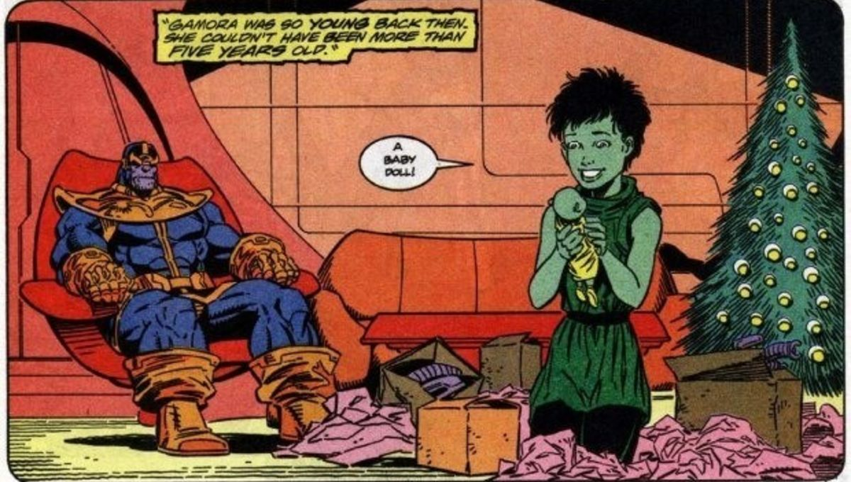 With Gamora and Thanos, Marvel has the chance to do right by kids ...