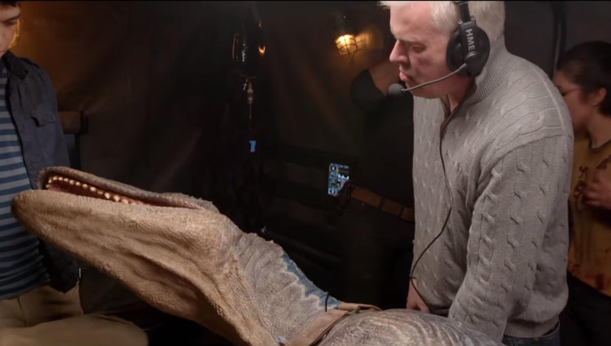 Jurassic World Fallen Kingdom behind the scenes