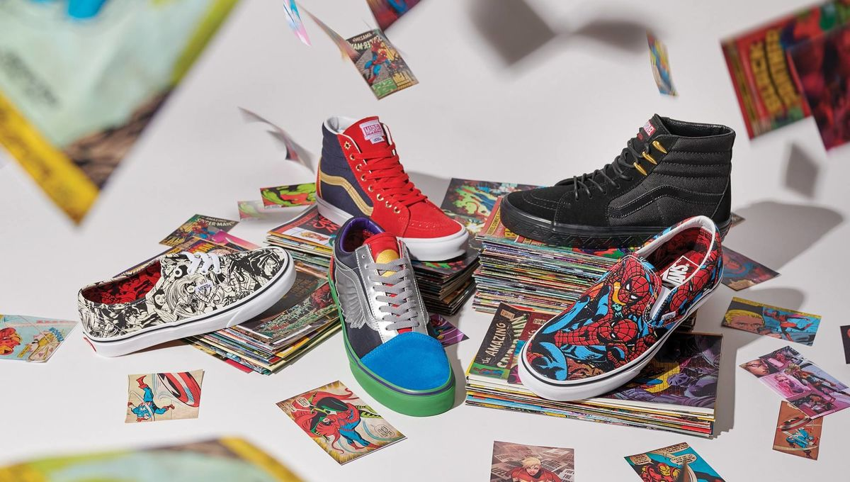 81f9281560 Marvel plus Vans what more could you want