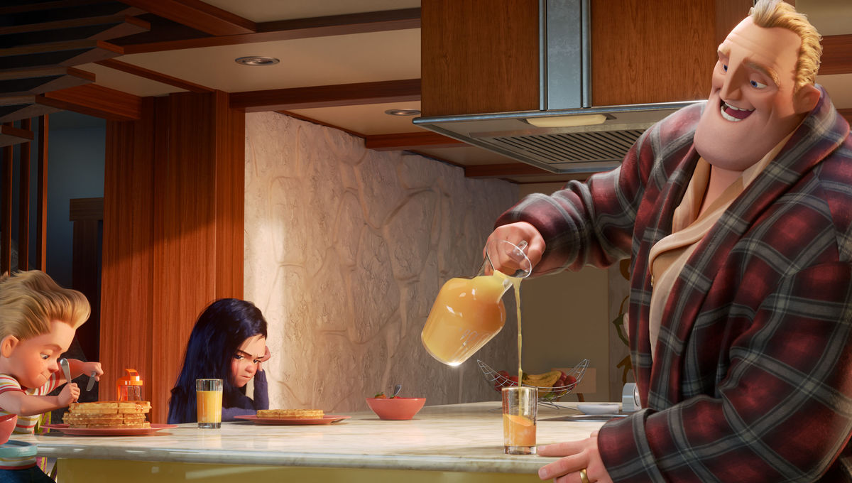 Incredibles 2, family breakfast