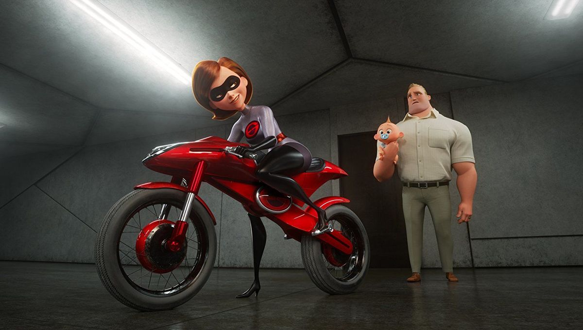 Incredibles 2, Elistagirl's Motorcycle