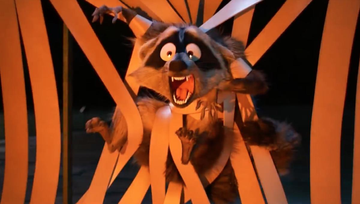Chosen One of the Day: Jack Jack's raccoon nemesis from ...