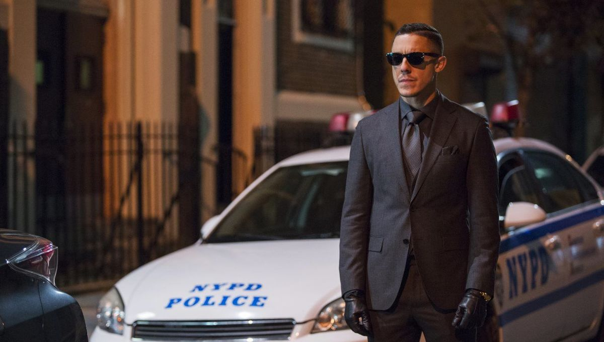Luke Cage Season 2 Theo Rossi On Power Loss And Shades One True Love SYFY WIRE