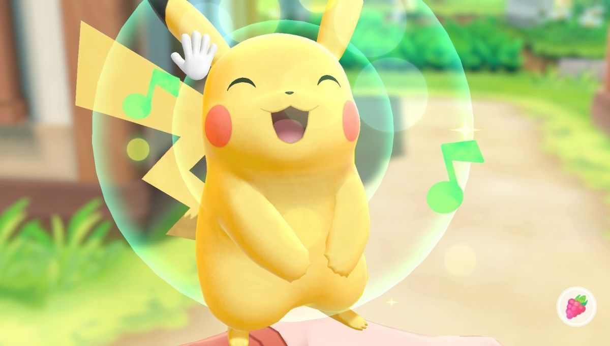 Pokemon - Let's Go, Pikachu