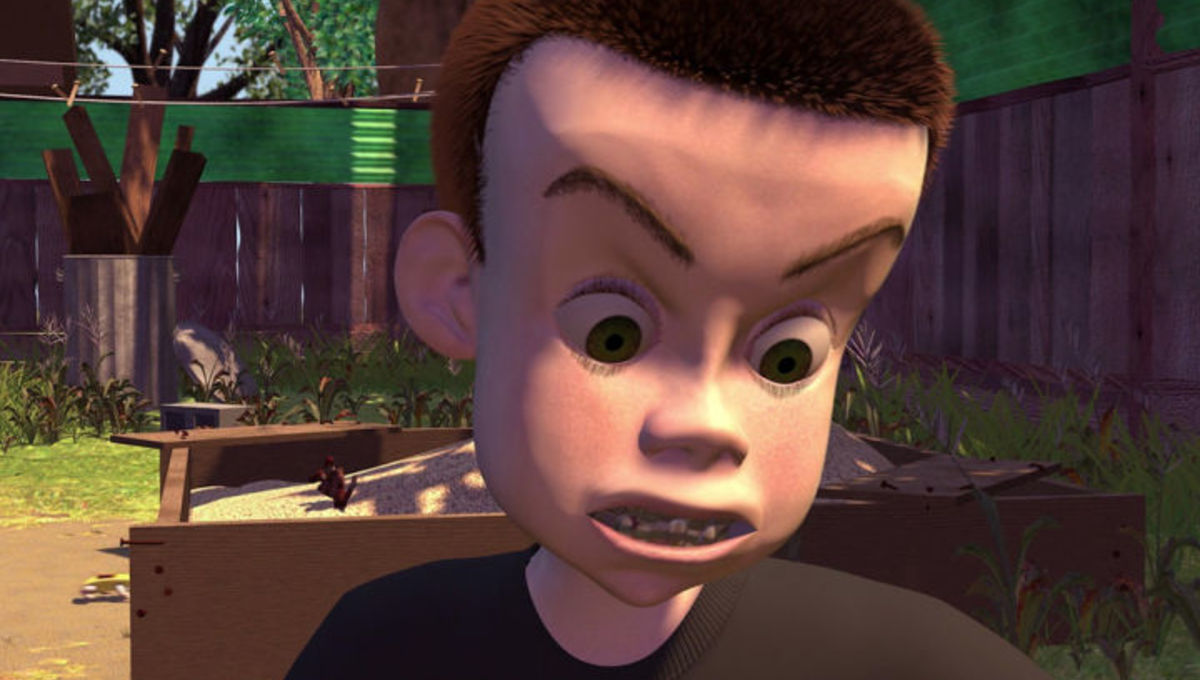Chosen One Of The Day Sid From Toy Story Syfy Wire