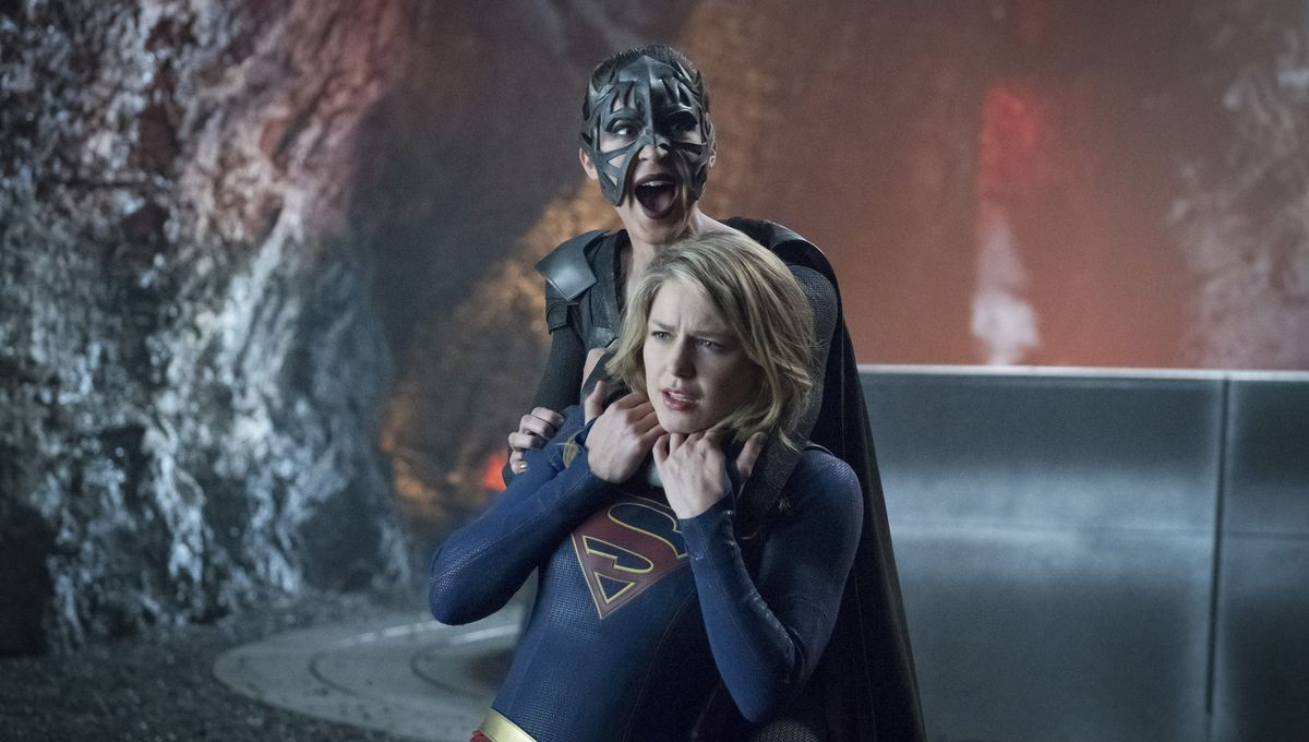 supergirl gets her man of steel moment in season 3 finale Supergirl CBS Season 3