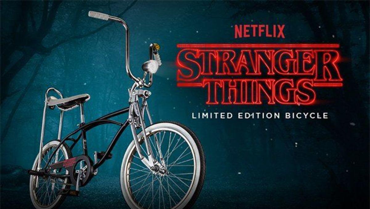 Explore the Upside Down on Schwinn's new Stranger Things bike