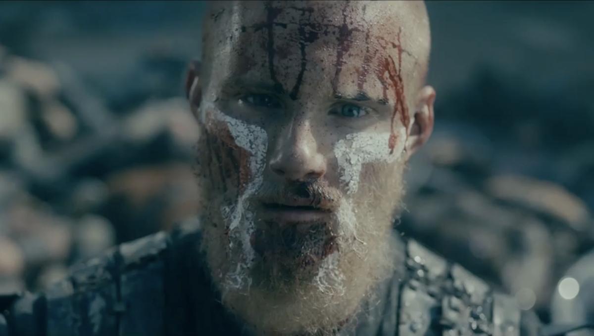 Lagertha goes gray and sons at war as HISTORY drops 'Vikings