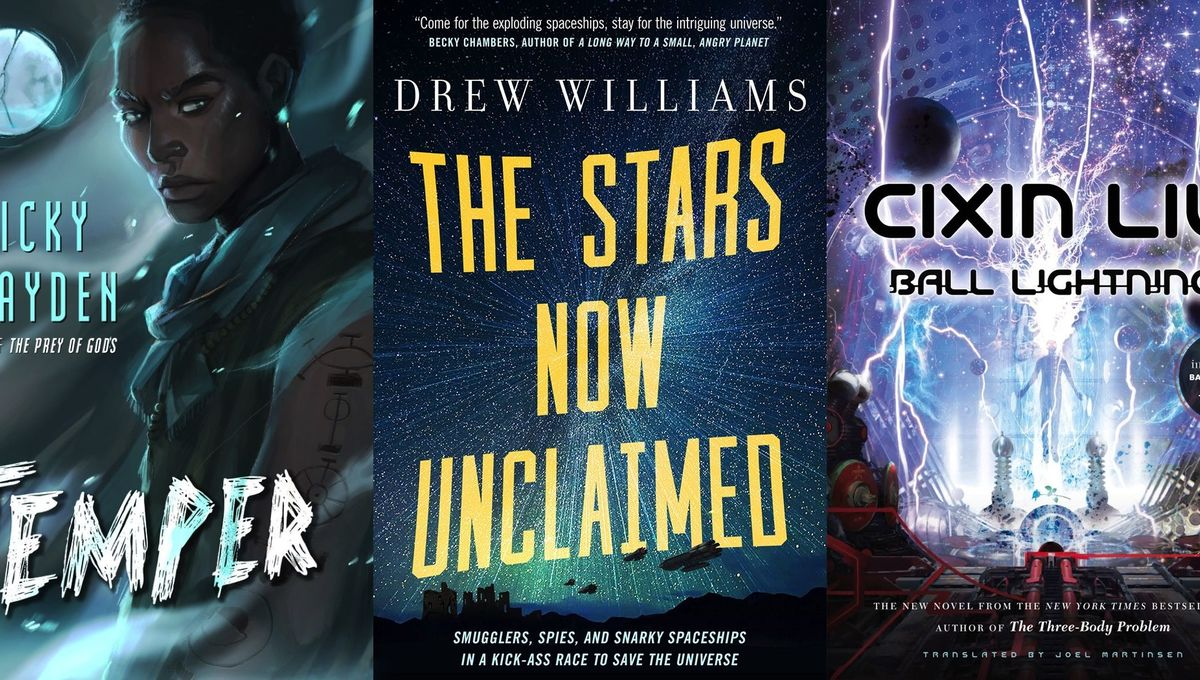 8 SFF book picks to get you through August's gross hot weather