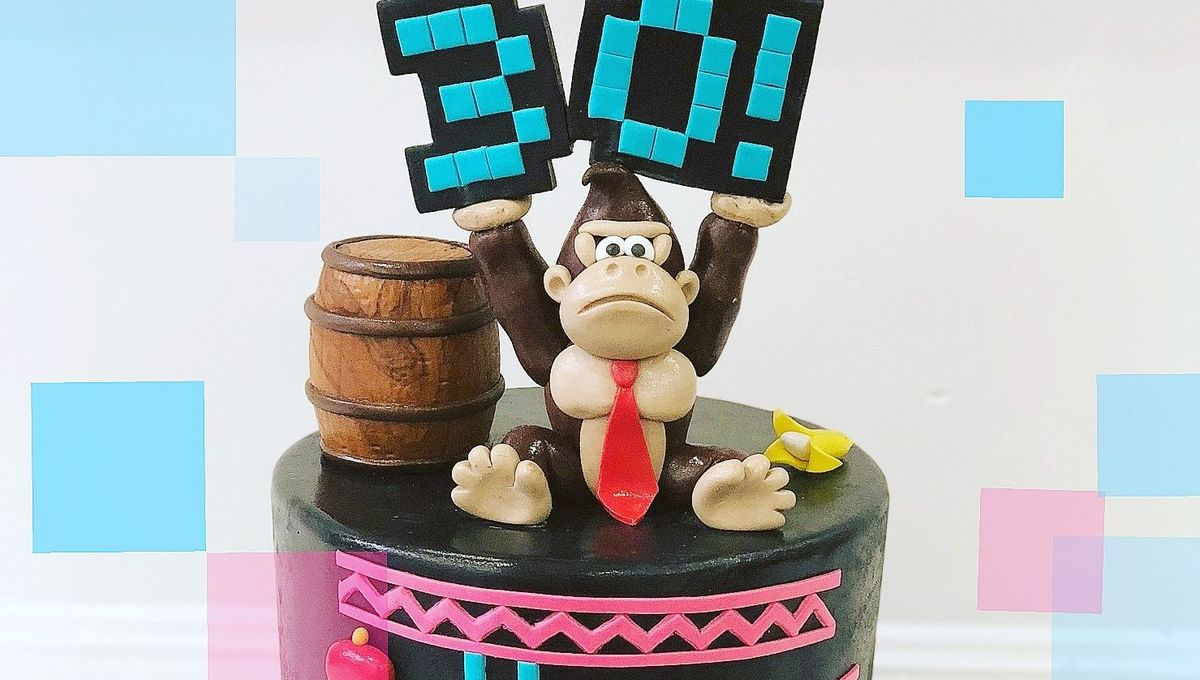 donkey kong cake Marj Santaromana