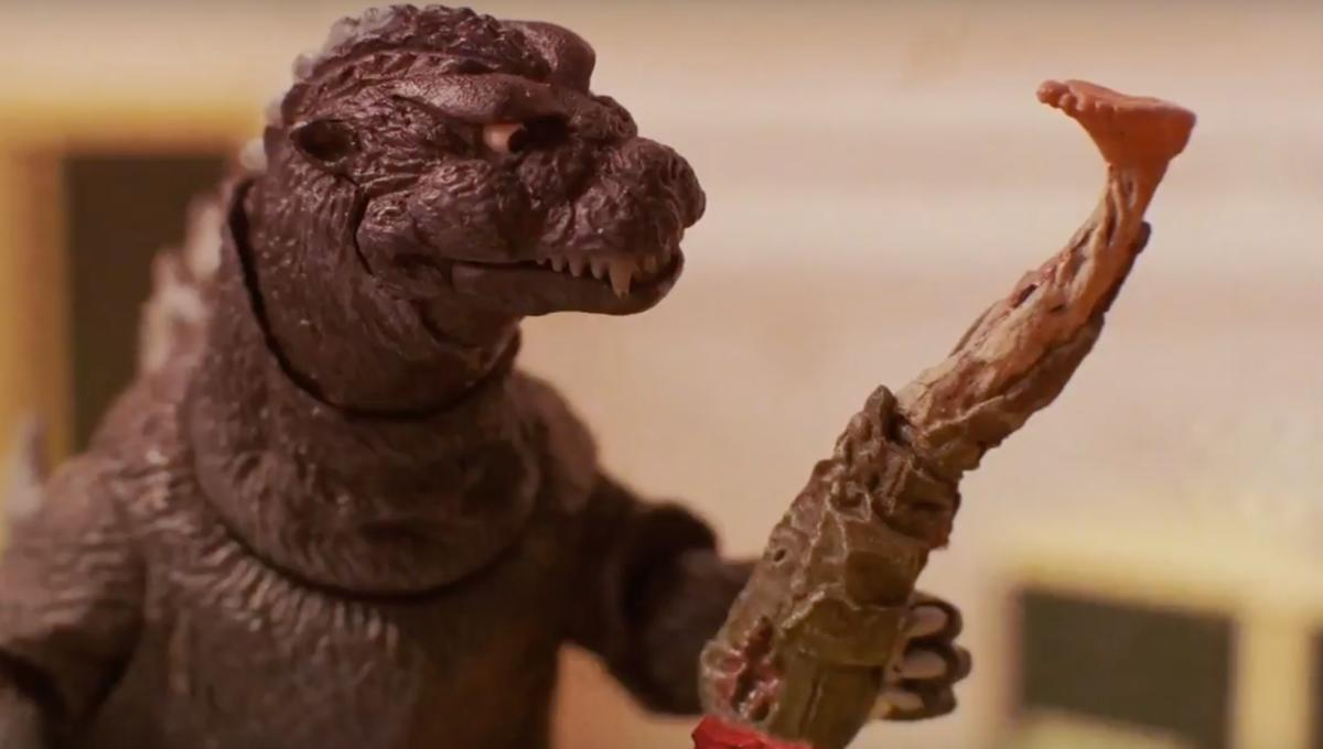 Godzilla tramples Stranger Things, Blade Runner and more in monstrously hilarious stop-motion shorts