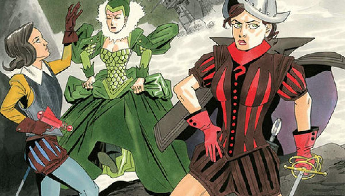 Exclusive Alan Moore And Kevin ONeill Hang It Up In The League Of Extraordinary Gentlemen Tempest