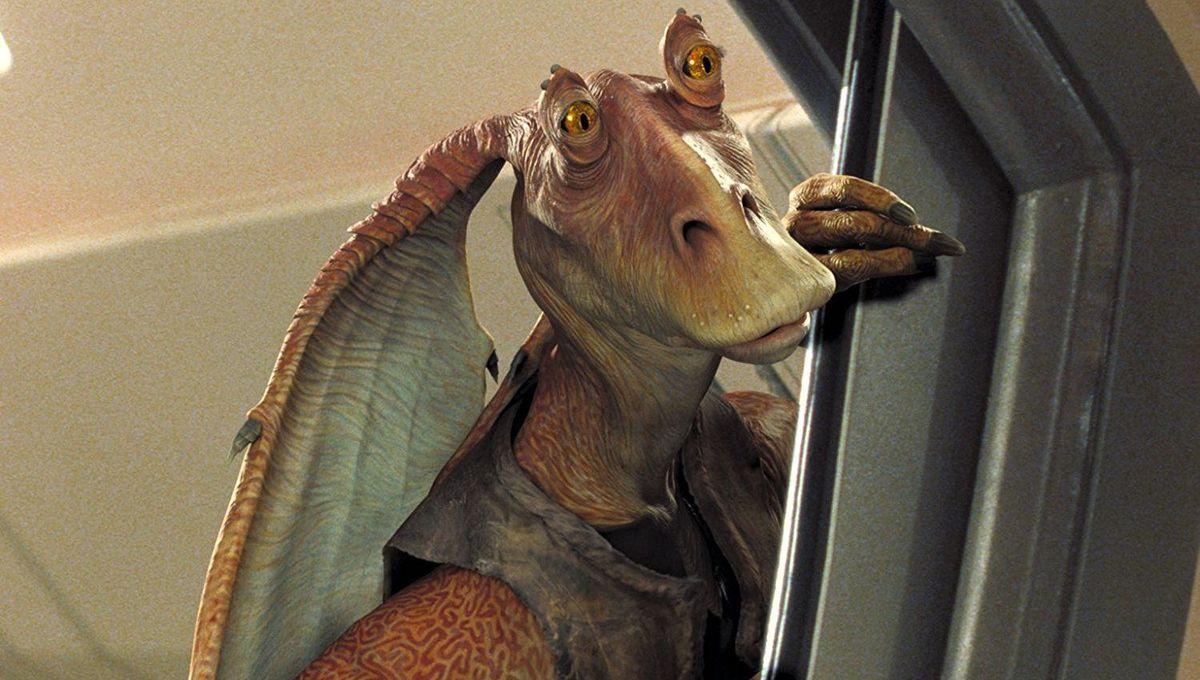 Jar Jar Binks spent the day trending on Twitter, baffling Star Wars