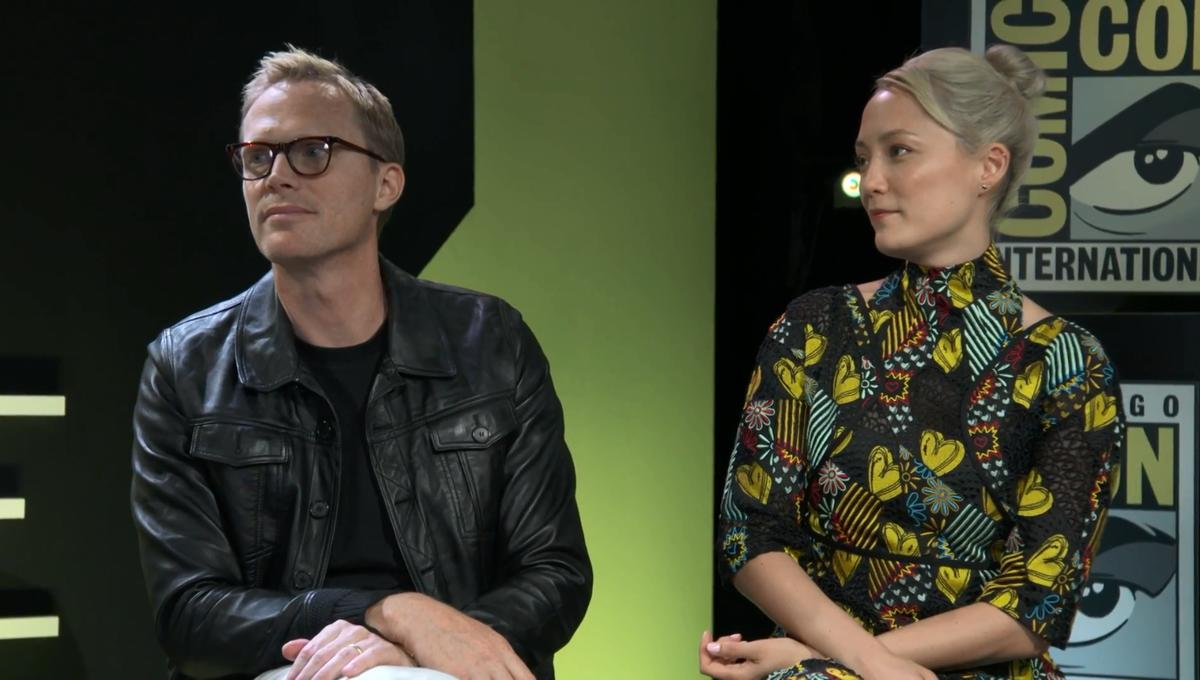WATCH SDCC: Avengers: Infinity War's Paul Bettany and Pom Klementieff on what's next in the MCU