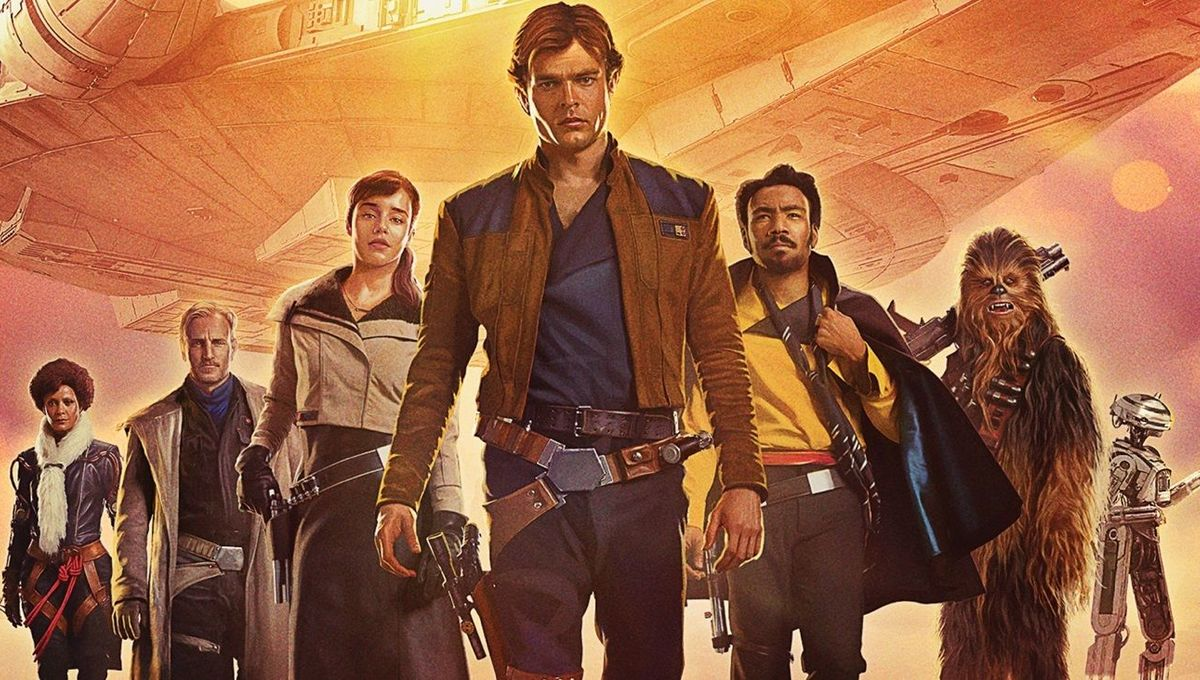 Solo: A Star Wars Story Blu-ray: Snow ball fighting and