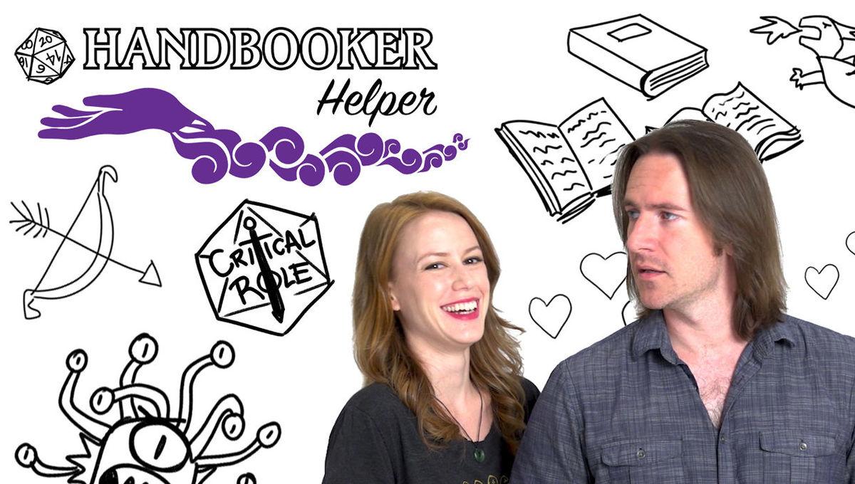Critical Role Handbooker Helper