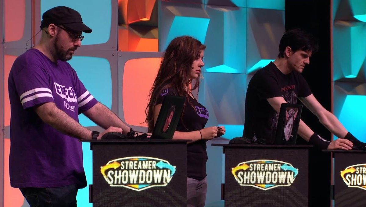 Live Twitchcon Streamer Showdown