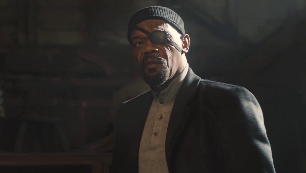 This fan theory about Nick Fury's call to Captain Marvel is actually pretty great