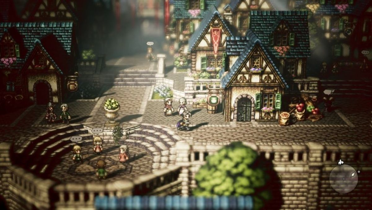 octopath traveler is the rpg nintendo switch gamers have been