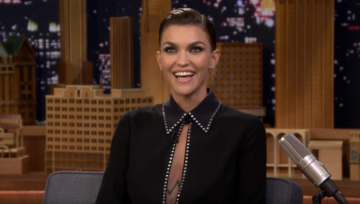 d6a9c341f Watch Ruby Rose s emotional reaction to her Batwoman casting on The Tonight  Show
