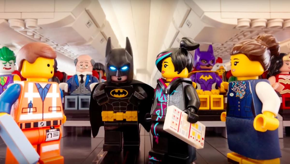 Batman And Other Lego Movie Characters Assemble For Turkish Airlines Safety Video