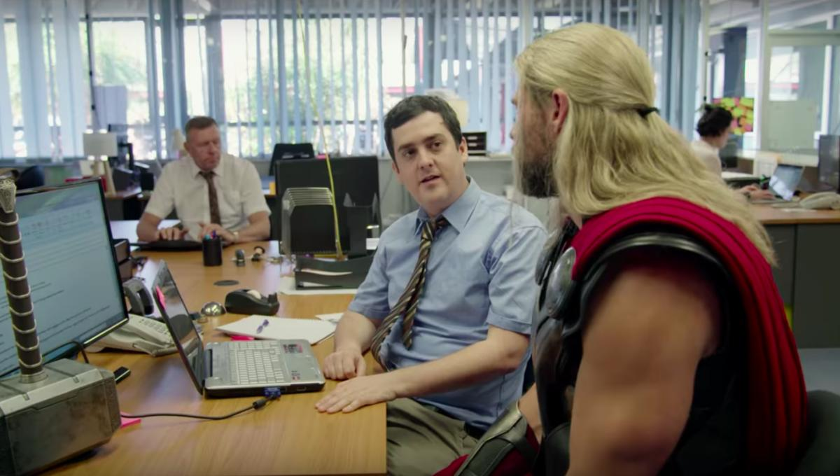 Thor's roommate Darryl survived Thanos' snap, but he's also in a ton of debt
