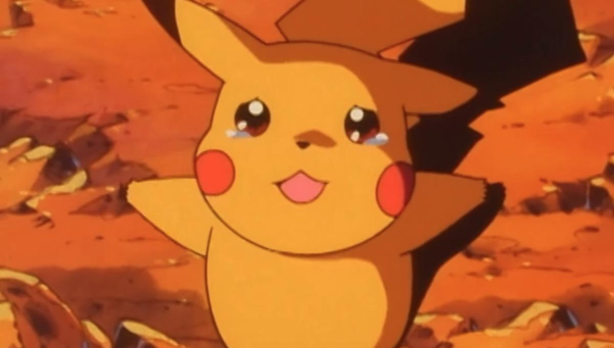 Bye Bye Butterfree Crying Pikachu