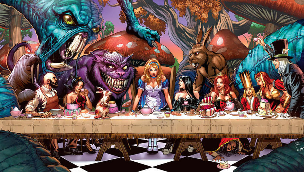 Welcome to the hellacious fantasy horror titles of Zenescope Comics