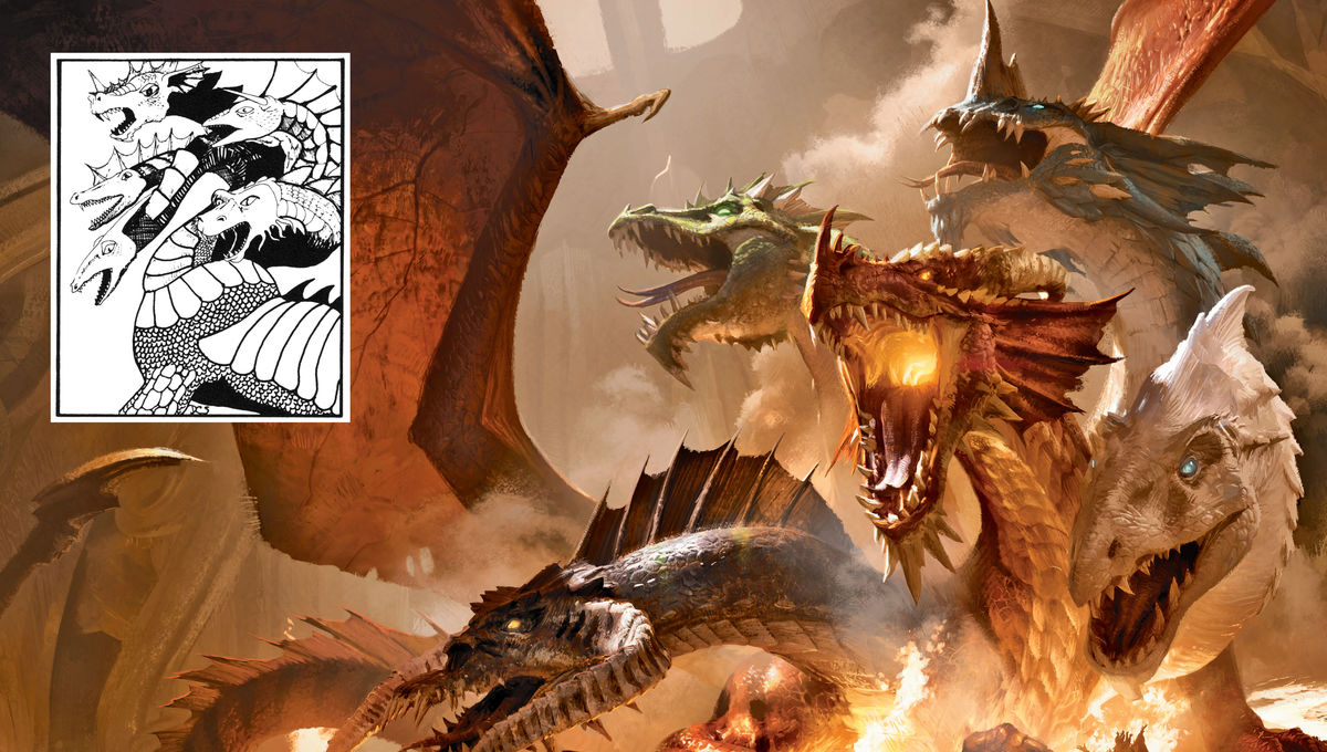 New book on Dungeons & Dragons visual history unearths scores of scaly facts, from X-Men shout-outs to Tolkien shut-outs